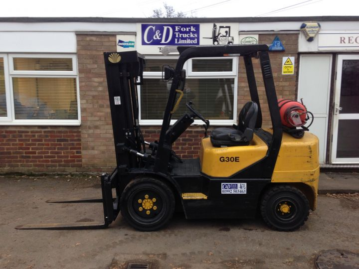 Daewoo Doosan G30E 3 | C&D Fork Trucks ltd